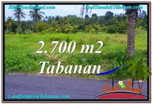 FOR SALE Beautiful LAND IN Tabanan Kerambitan BALI TJTB301