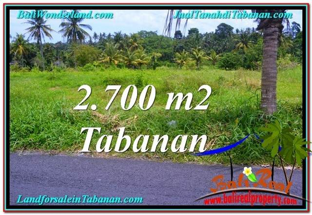 Magnificent PROPERTY LAND FOR SALE IN Tabanan Kerambitan BALI TJTB301