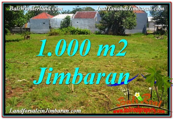 1,000 m2 LAND FOR SALE IN Jimbaran Ungasan TJJI108