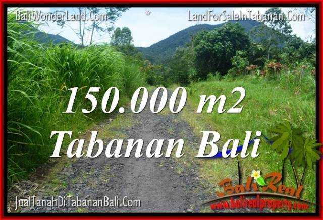 Beautiful PROPERTY 150,000 m2 LAND FOR SALE IN Tabanan Penebel BALI TJTB318