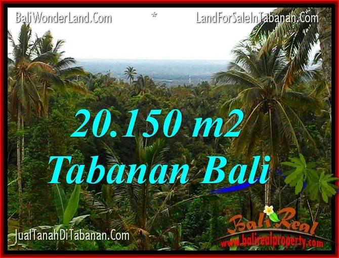 FOR SALE Affordable 20,150 m2 LAND IN TABANAN BALI TJTB322