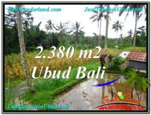 Exotic UBUD BALI 2,380 m2 LAND FOR SALE TJUB567