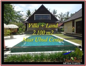 Exotic 2,190 m2 LAND FOR SALE IN Ubud Pejeng TJUB530