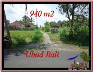 940 m2 LAND SALE IN UBUD BALI TJUB531