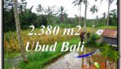 Affordable PROPERTY Ubud Payangan 2,380 m2 LAND FOR SALE TJUB567