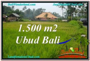 Magnificent 1,500 m2 LAND FOR SALE IN Ubud Tampak Siring TJUB558