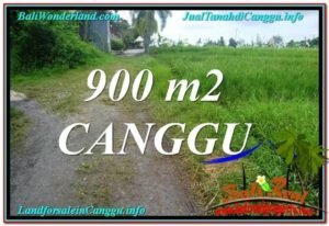Beautiful CANGGU 900 m2 LAND FOR SALE TJCG215