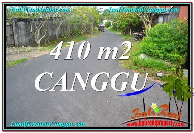Exotic PROPERTY 410 m2 LAND IN Canggu Pererenan BALI FOR SALE TJCG216