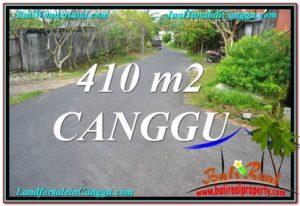 Affordable PROPERTY 410 m2 LAND SALE IN CANGGU TJCG216