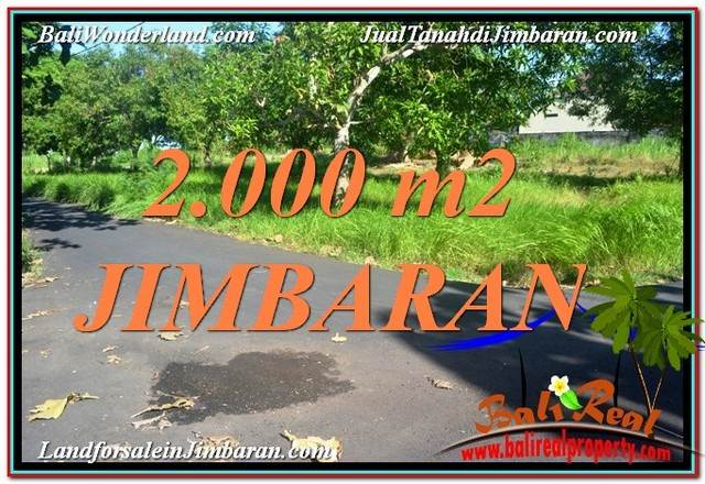 Exotic 2,000 m2 LAND FOR SALE IN JIMBARAN BALI TJJI114