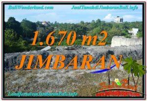 FOR SALE Affordable 1,670 m2 LAND IN JIMBARAN BALI TJJI116