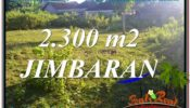 FOR SALE Affordable PROPERTY 2,300 m2 LAND IN JIMBARAN TJJI117