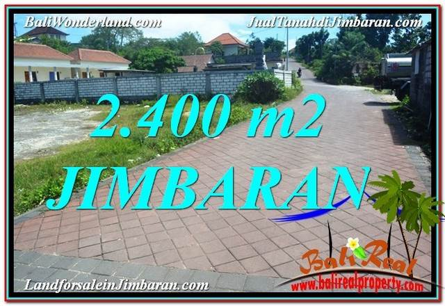 Beautiful 2,400 m2 LAND SALE IN Jimbaran Uluwatu  Bali TJJI110