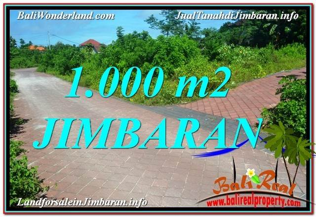 Beautiful Jimbaran Uluwatu  BALI 1,000 m2 LAND FOR SALE TJJI111