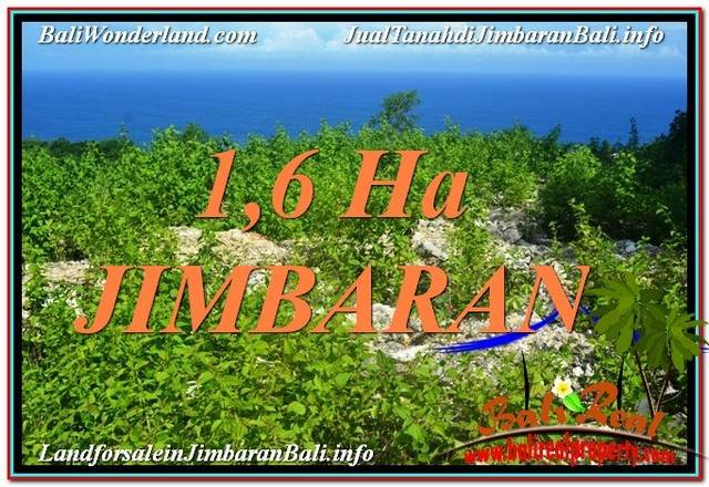 FOR SALE Beautiful 16,000 m2 LAND IN JIMBARAN TJJI112