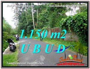 Beautiful 1,150 m2 LAND IN UBUD BALI FOR SALE TJUB576