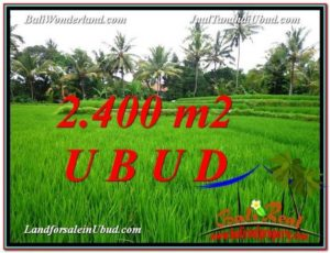 Magnificent LAND FOR SALE IN UBUD TJUB587