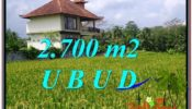 Magnificent UBUD LAND FOR SALE TJUB595