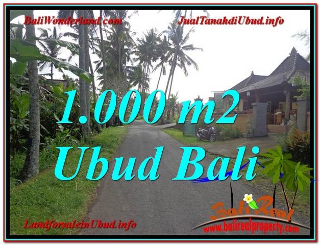 Affordable PROPERTY LAND SALE IN Ubud Pejeng BALI TJUB604