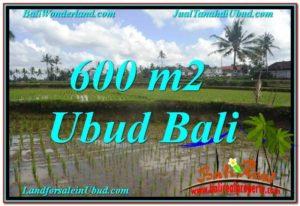 Exotic UBUD BALI 600 m2 LAND FOR SALE TJUB621
