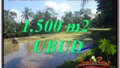 Exotic PROPERTY LAND IN UBUD FOR SALE TJUB630