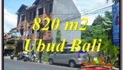 FOR SALE Beautiful PROPERTY 820 m2 LAND IN Sentral / Ubud Center TJUB643