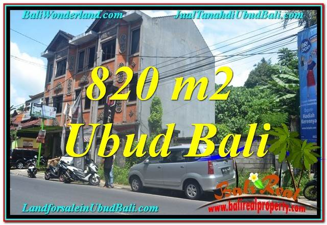 FOR SALE Affordable LAND IN Sentral / Ubud Center BALI TJUB643