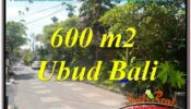 Beautiful PROPERTY 600 m2 LAND IN Sentral / Ubud Center FOR SALE TJUB644