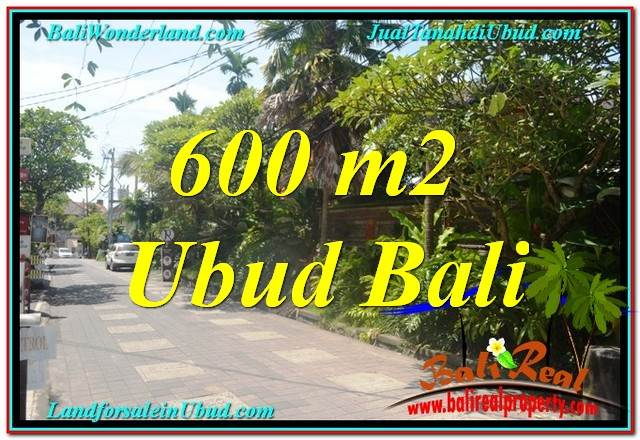 Affordable PROPERTY 600 m2 LAND SALE IN UBUD BALI TJUB644