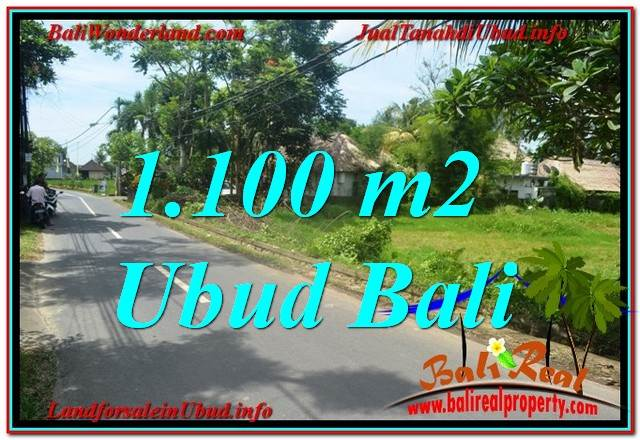 Magnificent PROPERTY 1,100 m2 LAND SALE IN Sentral / Ubud Center TJUB645