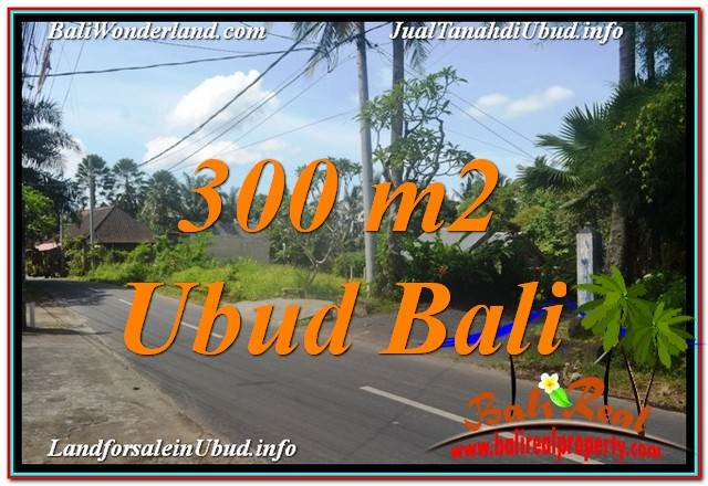 FOR SALE Exotic PROPERTY 300 m2 LAND IN UBUD BALI TJUB646