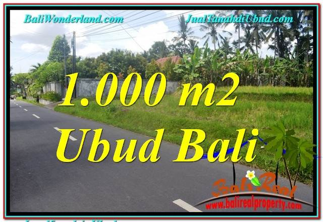 LAND FOR SALE IN Sentral / Ubud Center TJUB649