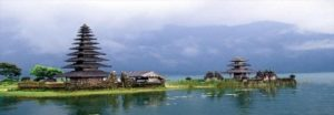 Ulun Danu Temple by Beratan Lake Bedugul Tabanan Bali