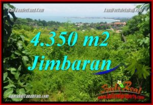 Exotic PROPERTY JIMBARAN 4,350 m2 LAND FOR SALE TJJI120
