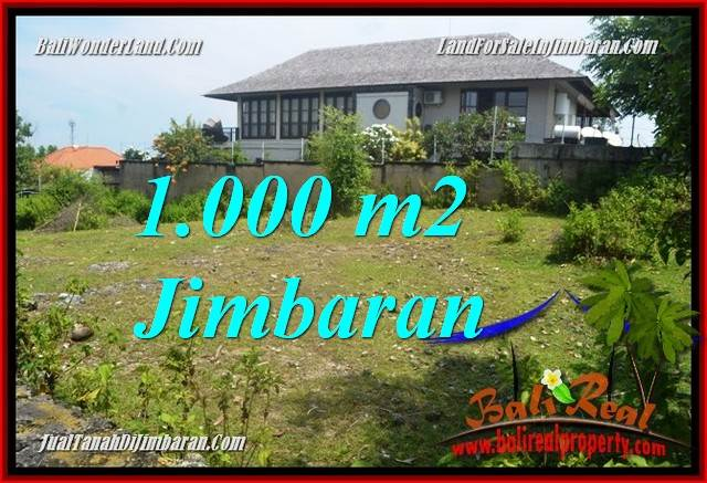 Exotic Jimbaran Ungasan 1,000 m2 LAND FOR SALE TJJI123