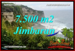 Exotic 7,500 m2 LAND FOR SALE IN Jimbaran Uluwatu TJJI126