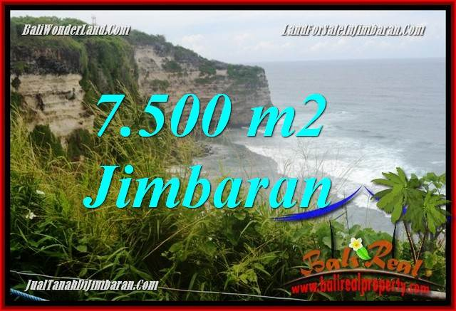 Affordable Jimbaran Uluwatu  Bali 7,500 m2 LAND FOR SALE TJJI126