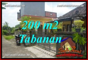 FOR SALE Magnificent PROPERTY 200 m2 LAND IN TABANAN TJTB359