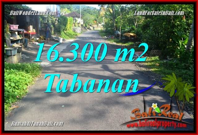 Affordable 16,300 m2 LAND IN TABANAN BALI FOR SALE TJTB361