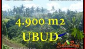 Exotic UBUD BALI 4,900 m2 LAND FOR SALE TJUB665