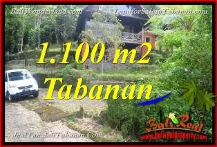 Exotic 1,100 m2 LAND FOR SALE IN TABANAN TJTB371