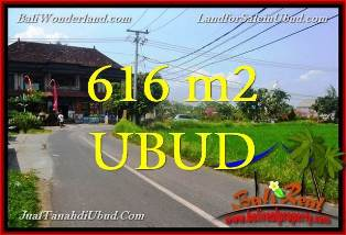 FOR SALE Magnificent 616 m2 LAND Near Ubud Center BALI TJUB650