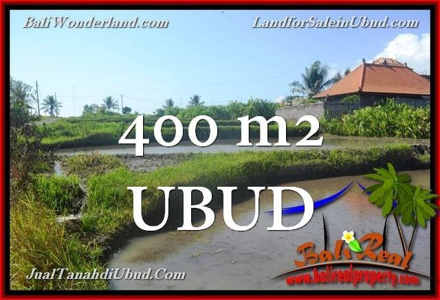 Beautiful 400 m2 LAND FOR SALE IN UBUD TJUB659