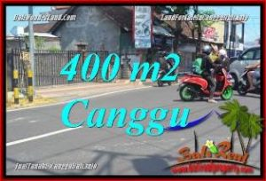 Affordable PROPERTY CANGGU 400 m2 LAND FOR SALE TJCG224
