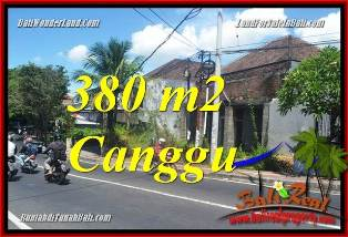Exotic PROPERTY CANGGU 380 m2 LAND FOR SALE TJCG226