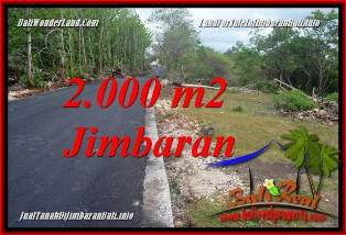 Magnificent 2,000 m2 LAND IN JIMBARAN UNGASAN FOR SALE TJJI133B