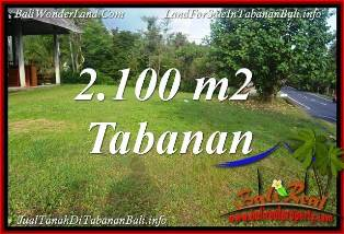 Cheap property 2,100 m2 LAND FOR SALE IN TABANAN TJTB393