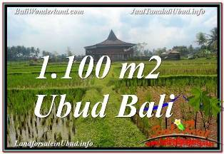 Affordable PROPERTY 1,100 m2 LAND IN SENTRAL UBUD FOR SALE TJUB670