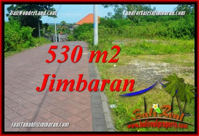 Beautiful JIMBARAN ULUWATU 530 m2 LAND FOR SALE TJJI127