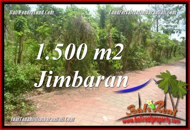 JIMBARAN ULUWATU 1,500 m2 LAND FOR SALE TJJI128